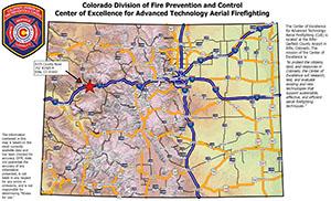CoE Geospatial PDF Maps | Fire Prevention and Control