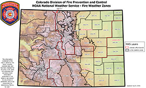 CoE Geospatial PDF Maps Fire Prevention And Control - Us weather zone map