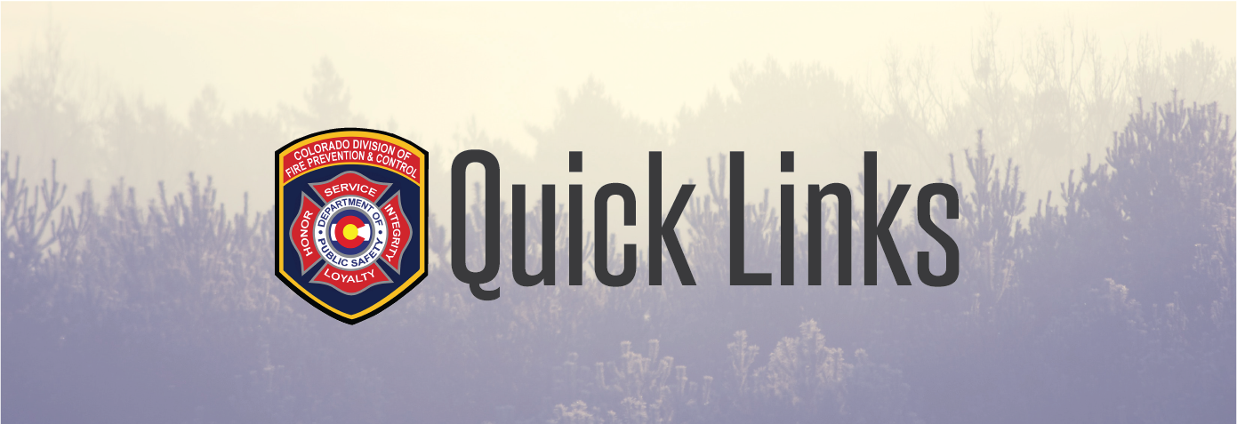 quick links fire prevention and control