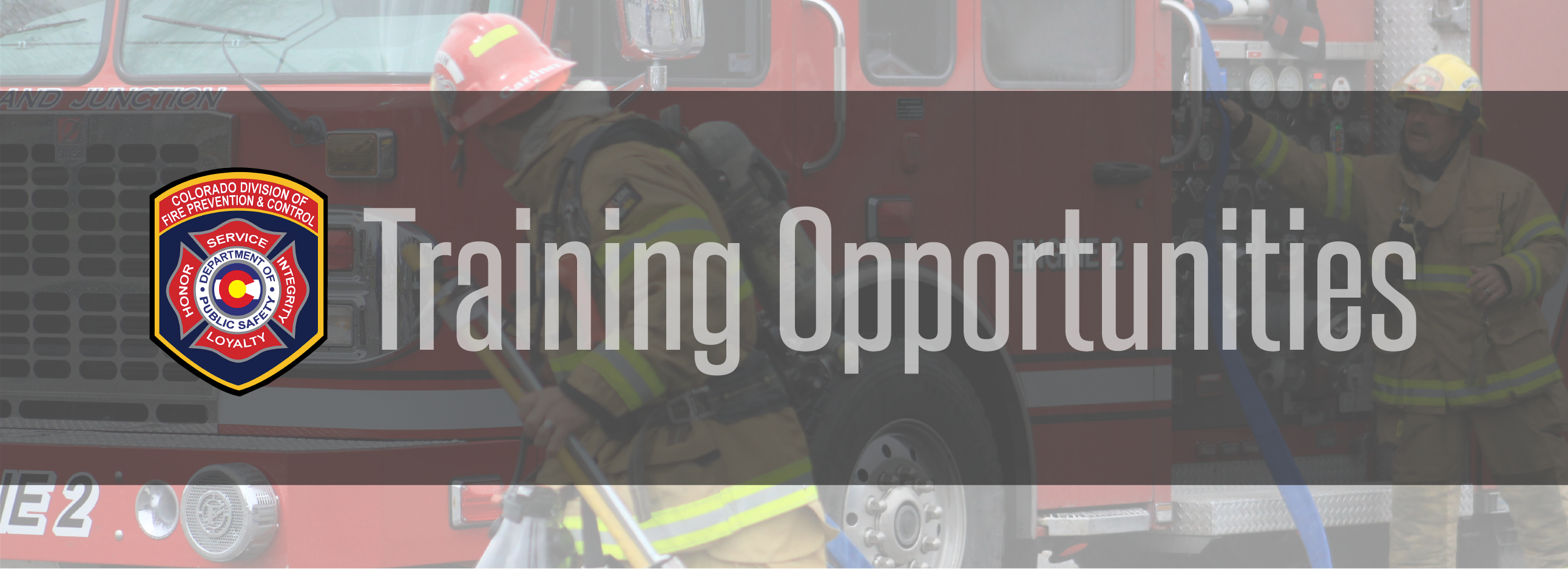 Training Opportunities | Fire Prevention and Control