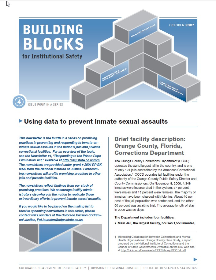 Bulletin Series: Building Blocks for Institutional Safety